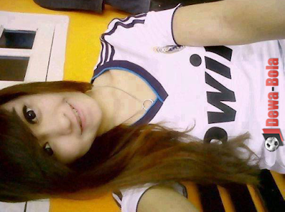 Asian Indonesia girl-Real Madrid