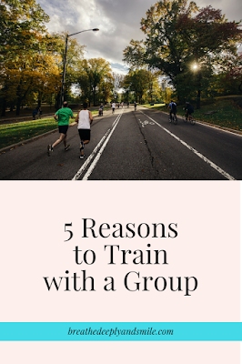 5 Reasons to Train with a Running Group {at Charm City Run}