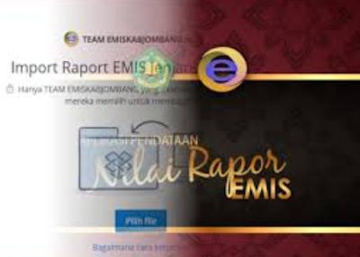 Download Software Aplikasi Raport Emis Terbaru Tahun 2017