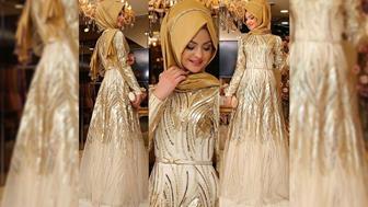 Model Gaun Brokat Mewah Terbaru