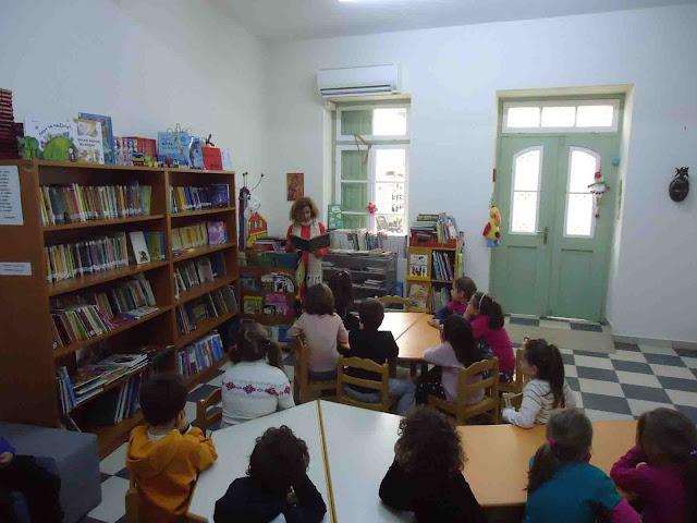 Επίσκεψη του 2ο Δημοτικού Σχολείου στη Δημοτική Βιβλιοθήκη Κρανιδίου