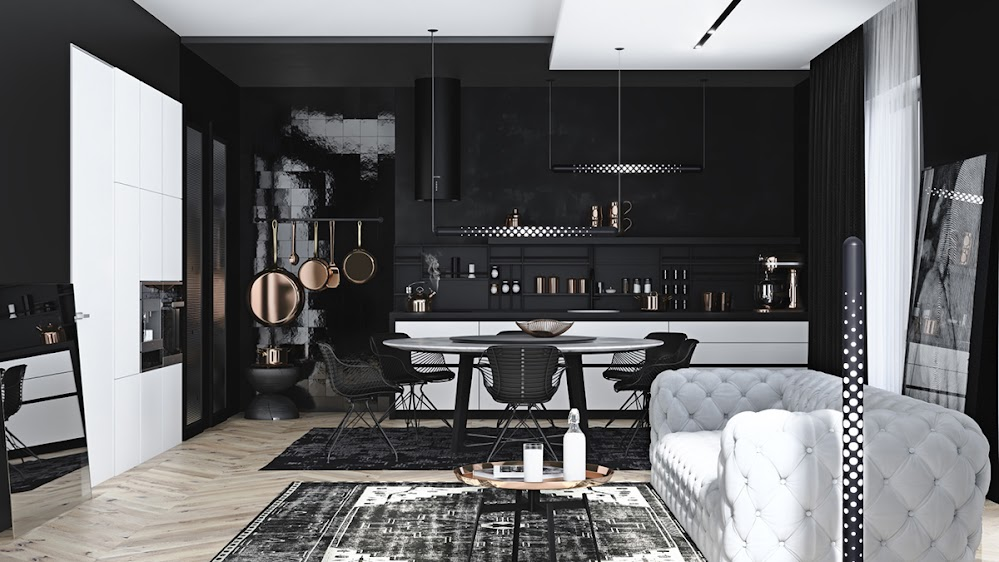 black-home-design