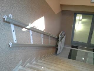 Platforma schodowa na schody proste