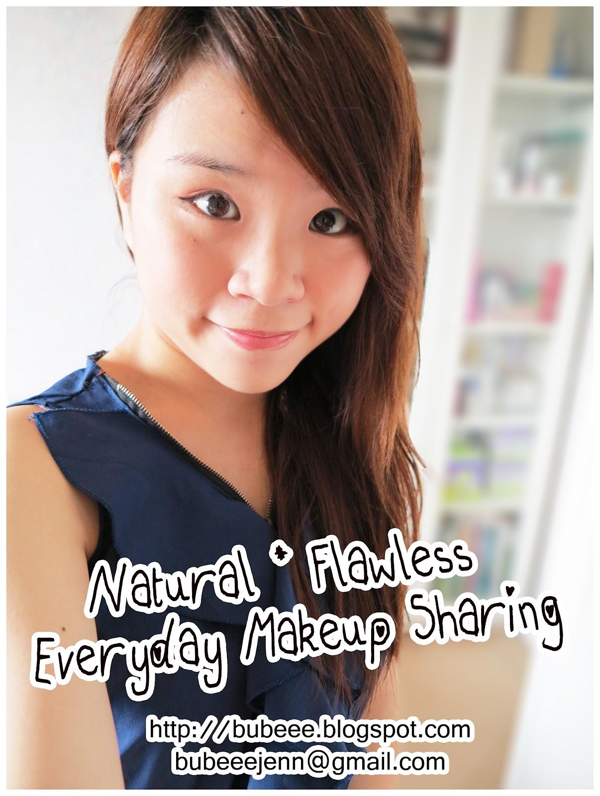 Bubeee. ♥: Natural * Flawless Everyday Makeup Sharing