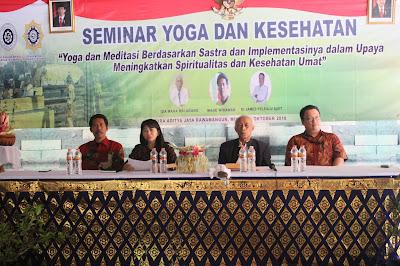 Made Wirawan: Yoga Adalah Pengendalian Pikiran di Dalam Pikiran