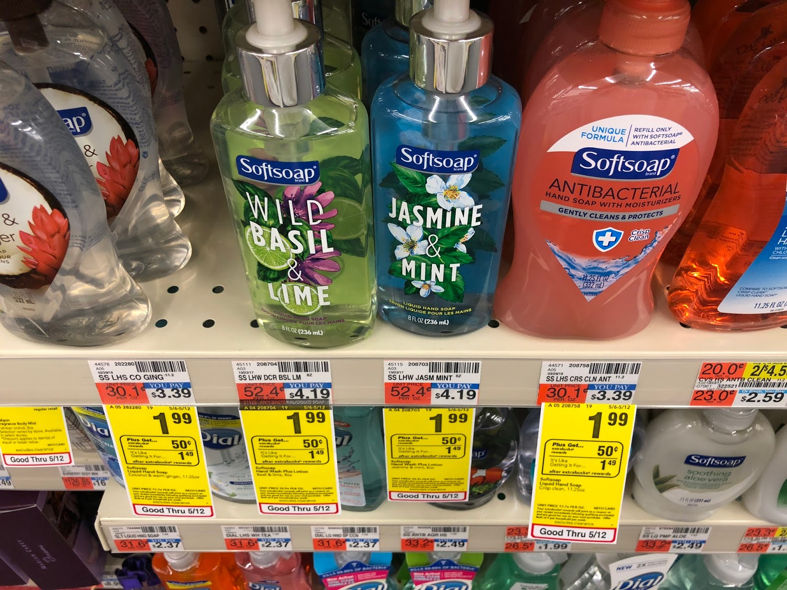 Cvs Softsoap Liquid Hand Soap 99 Cents Usually 4 19