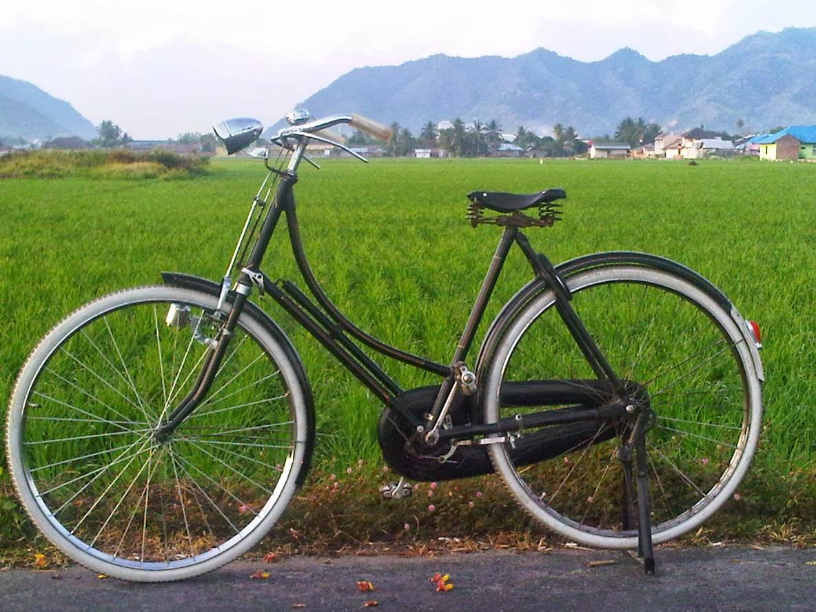 NIAS TANONIHA Raleigh Sepeda Onthel Yang Mumpuni