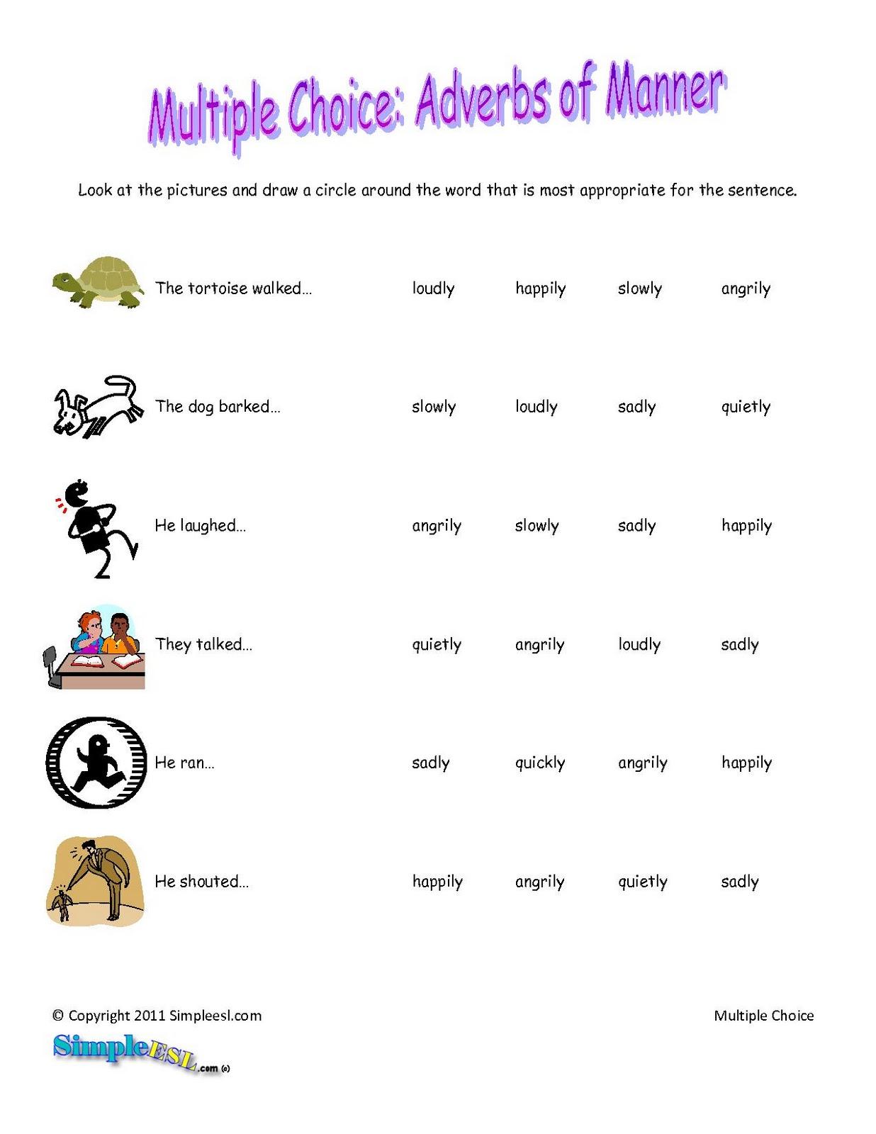Funny English Worksheet 5