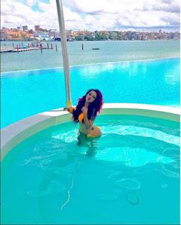 Vera Sidika shows off her hot body in Bikini