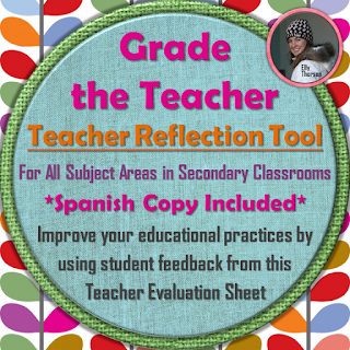 Grade the Teacher: teacher evaluation tool