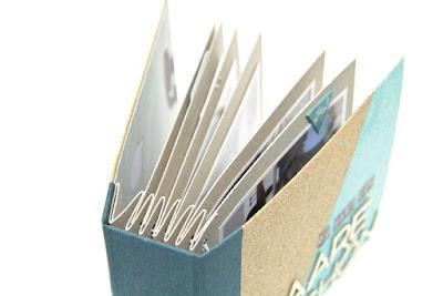 Buchdeckel aus Korkplatten