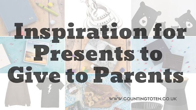 A selection of presents to give to parents to provide inspiration
