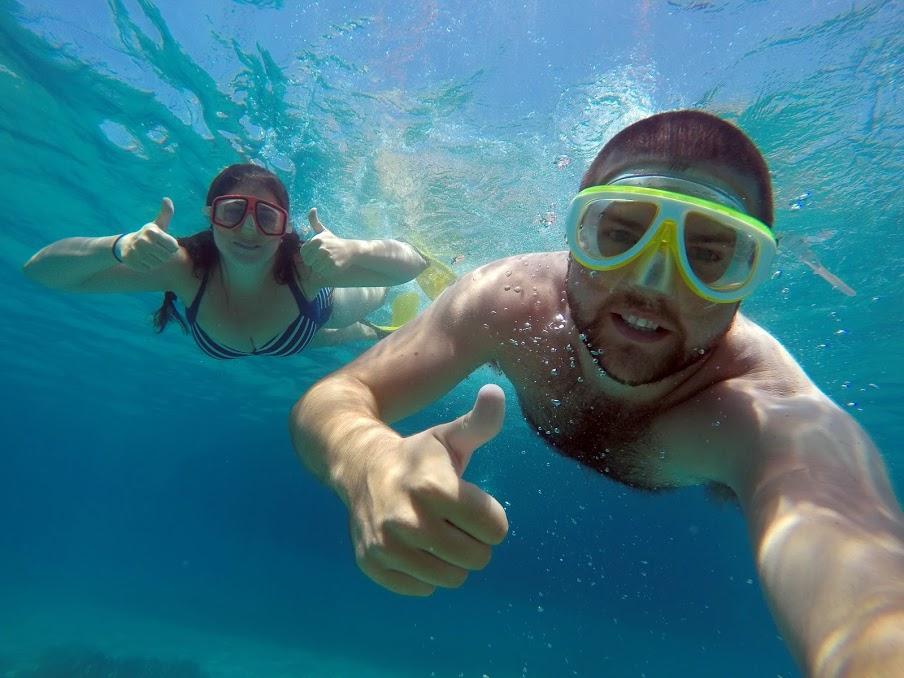 Snorkelling in Turkey