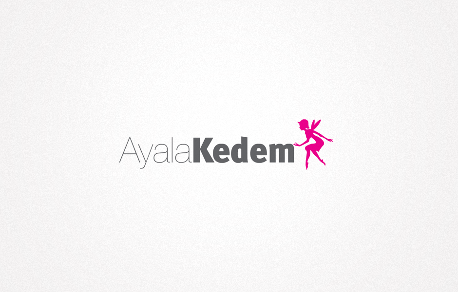 עיצוב לוגו איילה קדם, עיצוב גרפי : רון ידלין, סטודיו לעיצוב גרפי