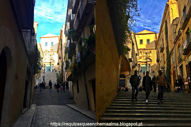 Escadas de Sant Martí.