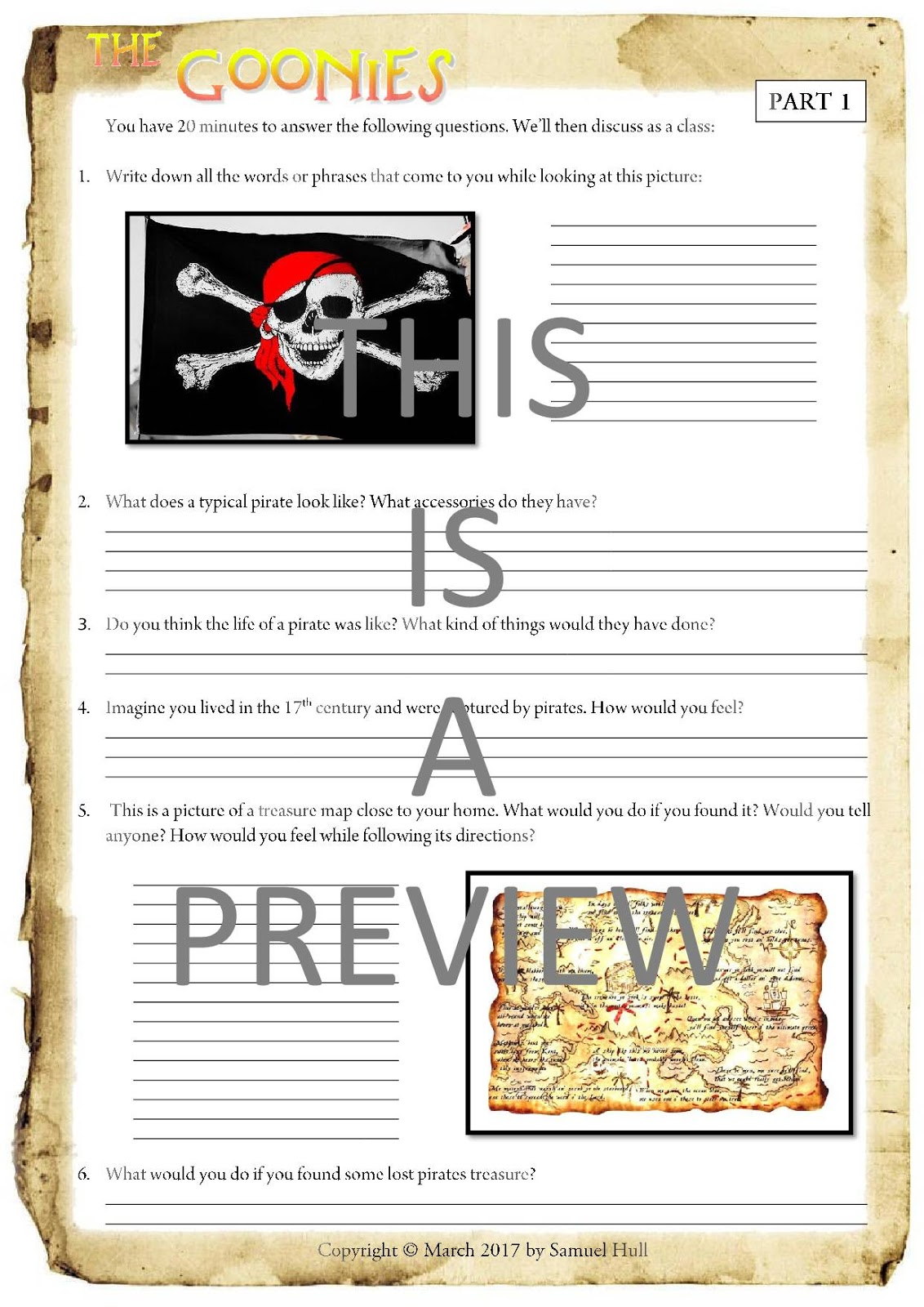 https www teacherspayteachers com product the goonies 1985 movie guide questions extras answer key included 3038884