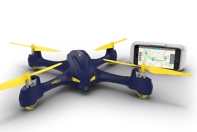 Hubsan H507A X4 star Pro Quadcopter Waypoints