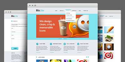 BisLite - Busniess Website Coded HTML And PSD Templates