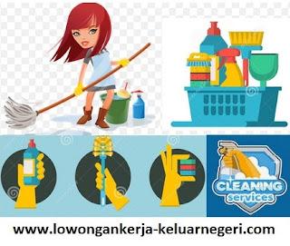 Lowongan Kerja di Clening Service di Malaysia-Info hub Ali Syarief Hp. 081320432002
