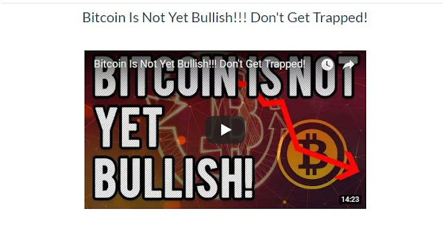 Bitcoin Is Not Yet Bullish!!! Don't Get Trapped!