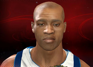 NBA 2K13 Vince Carter Default 2K Cyberface