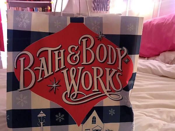 Bath and Body Works Winter Haul