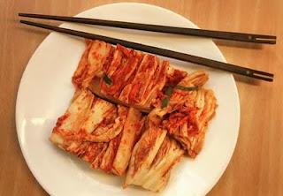 makanan khas korea selatan Kimchi
