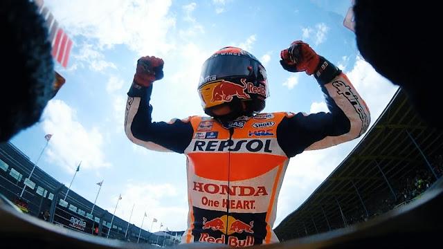 Kedewasaan Marquez Yang Mengantarnya Ke Puncak Klasmen