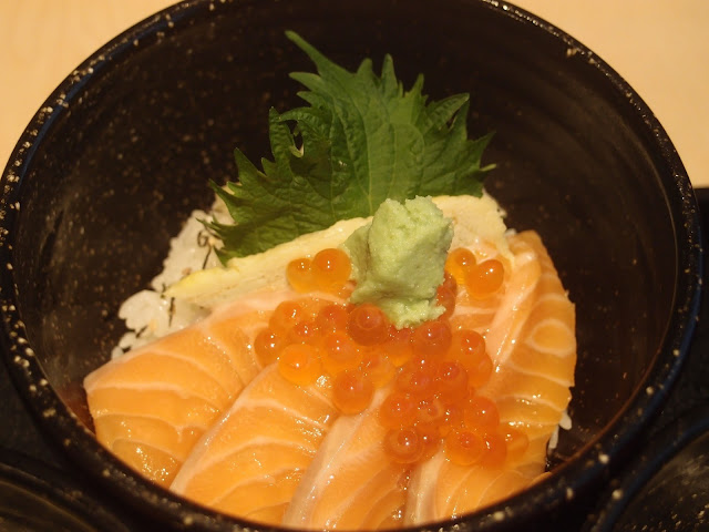 Salmon Ikura Don