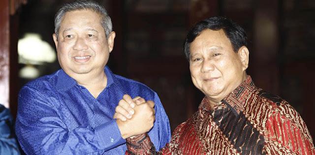 Pertemuan Prabowo-SBY Untuk Bangun Koalisi Besar