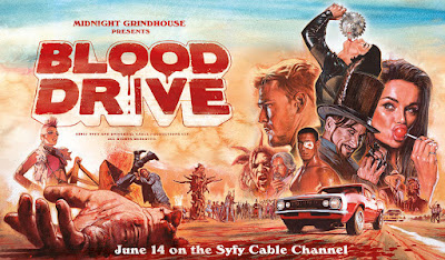 Blood Drive Syfy Series Banner Poster