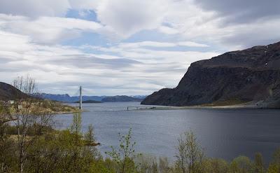 Północny Punkt Widzenia: Moja własna Śnieżka. Norweska prowincja- Kåfjord