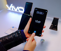 vivo x20plus UD,world first on screen smartphone,vivo mobile,