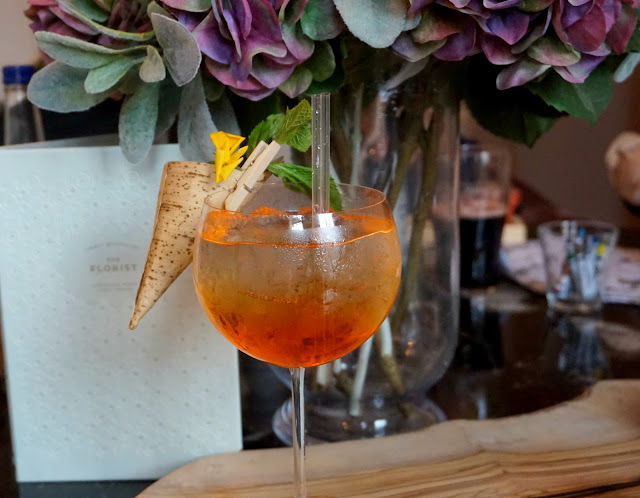 cocktail from the florist, liverpool