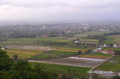 Landscape Candi Prambanan