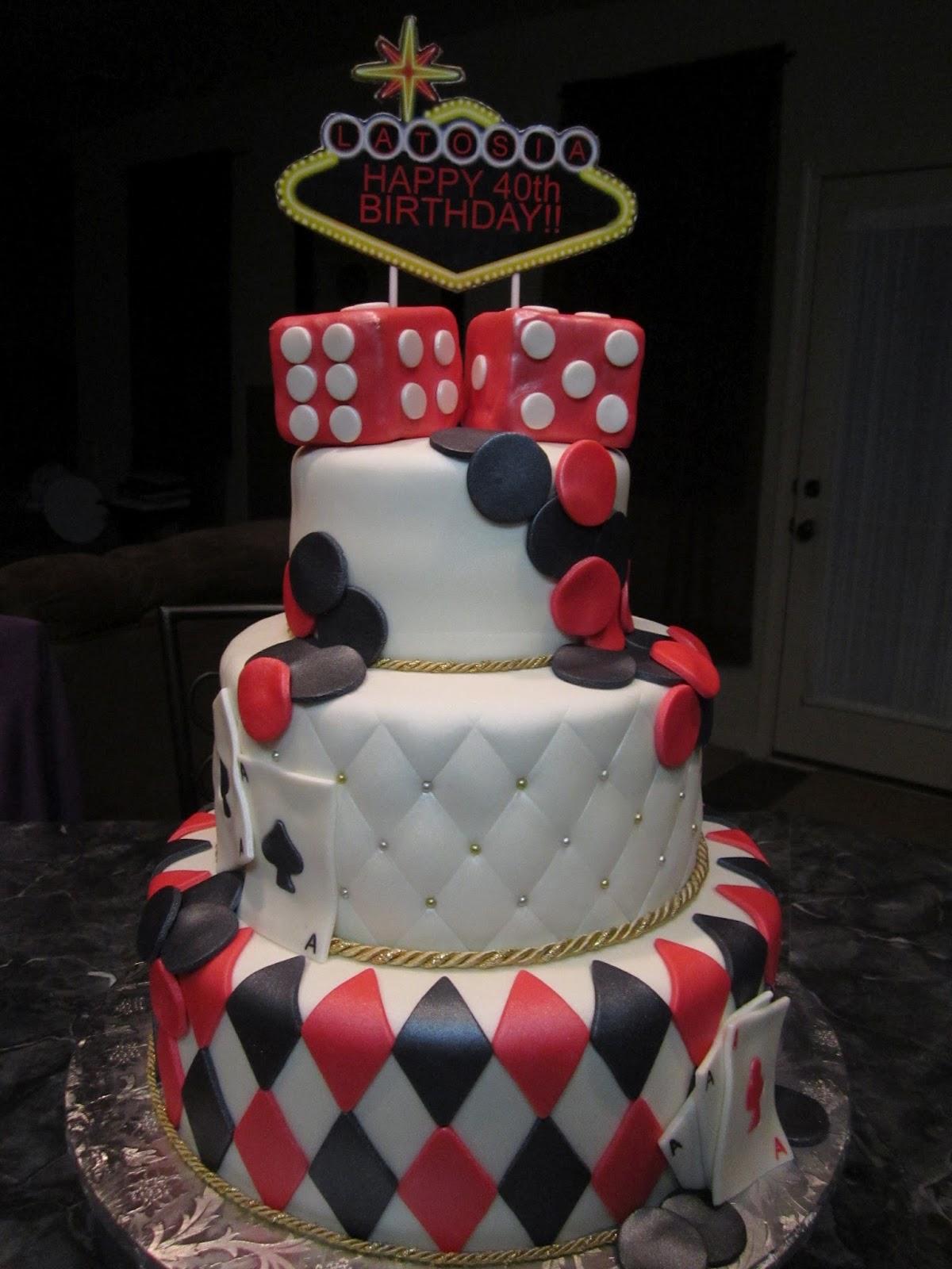 Casino Theme Cakes