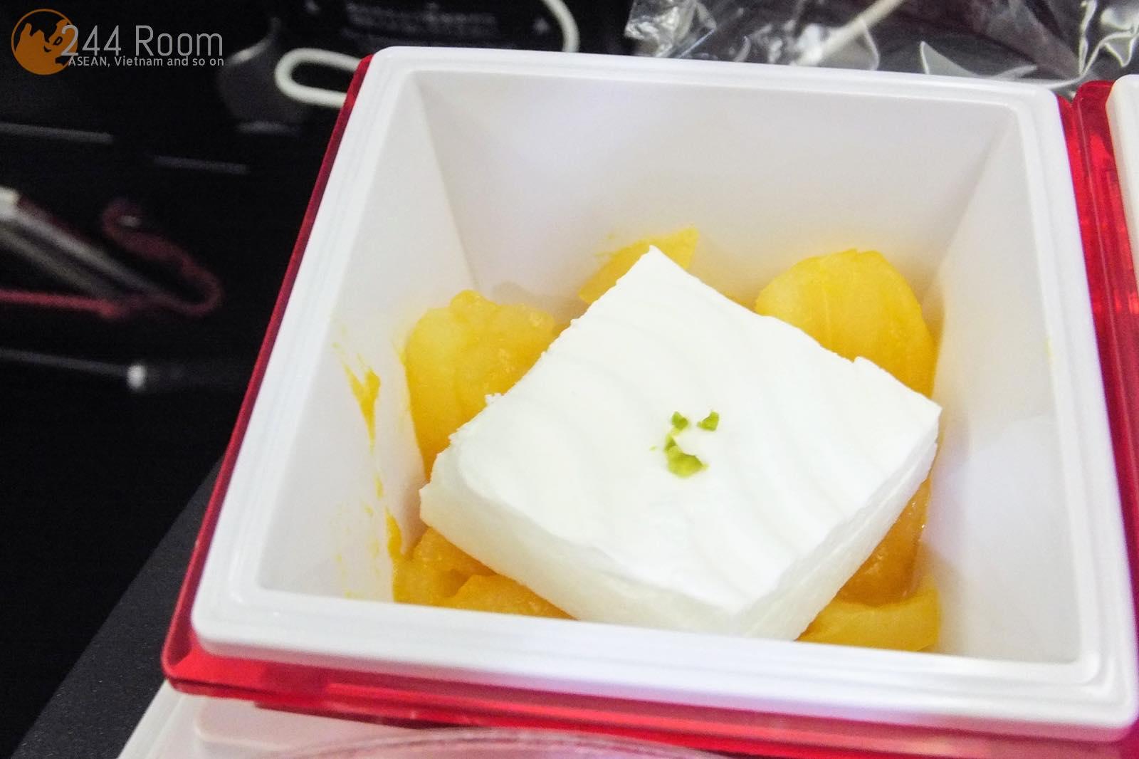 JAL U-35中華機内食 U-35 Flight meal5