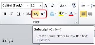Superscript Subscript