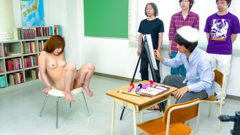 WATCH Miku Airi's Pussy Made To Cum With Sex Toys