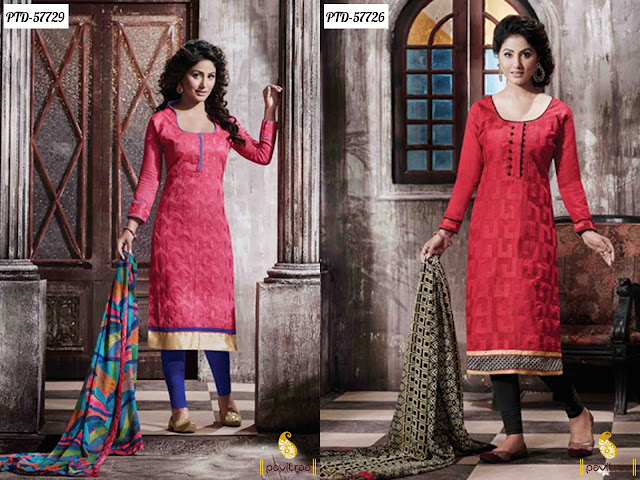 Akshara Hina Khan Suits dresses online shopping 2016