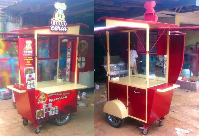 Gerobak dorong-Mobile Carts