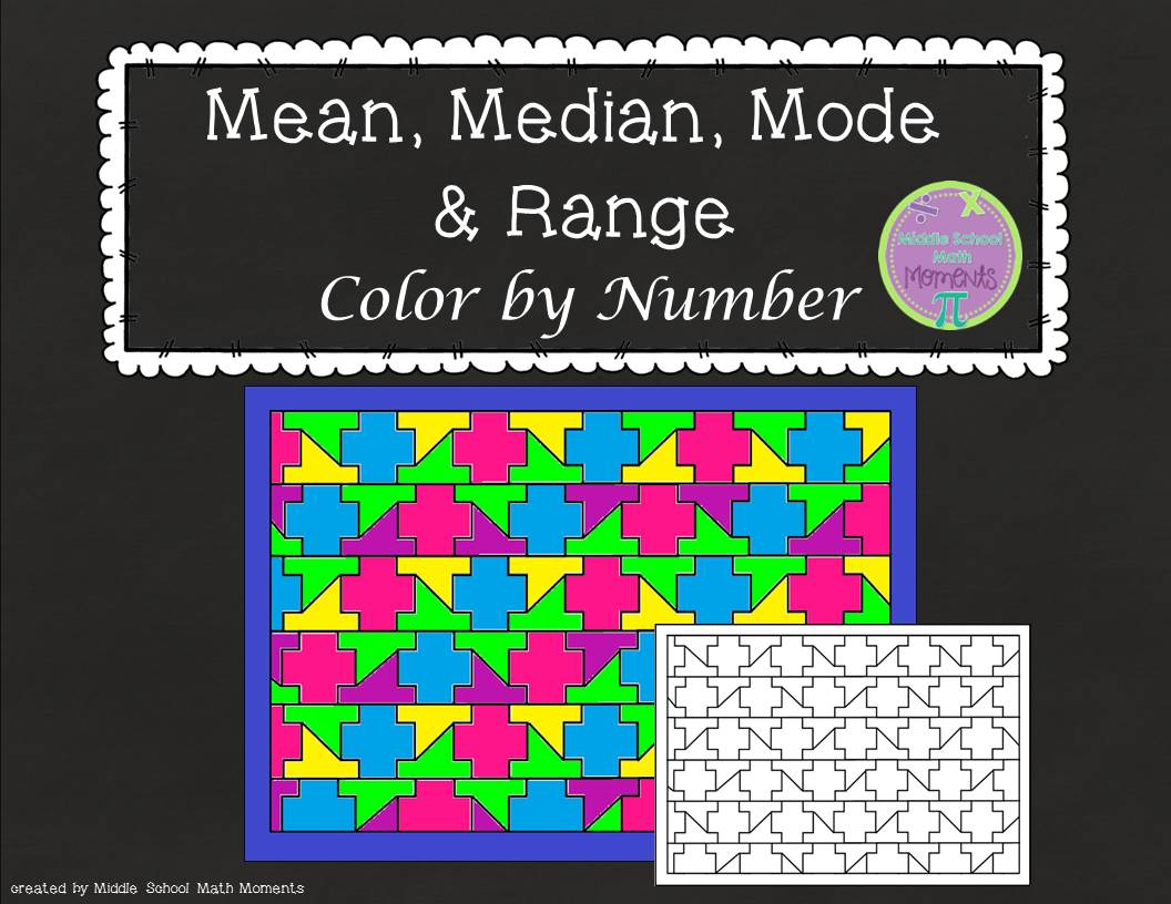 how to do mean median mode and range