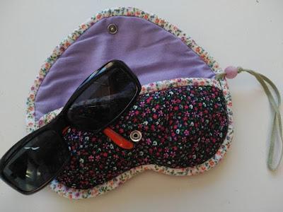 funda gafas, costura, couture, sewing, sunglasses case