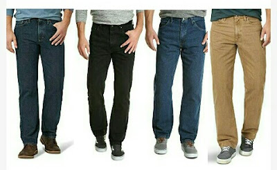 Men's Wrangler Jeans - Everyday Casual Denim-Cotton Trousers