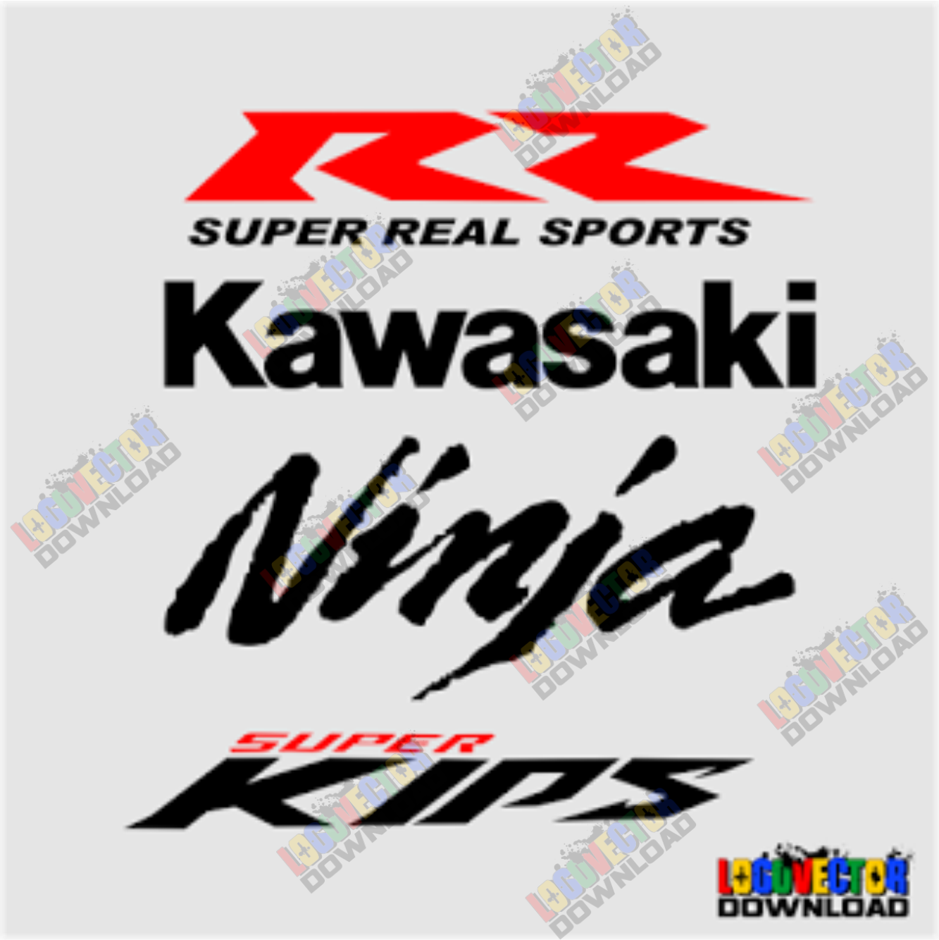Download Kawasaki Ninja Rr Super Kips Logo Vector Cdr Logo Vector