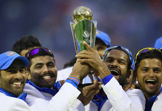 India wins Champions Trophy 2013