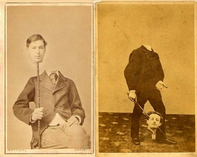 foto manusia terpenggal tanpa kepala foto era victorian