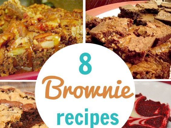 8 Batches of Brownie Recipes