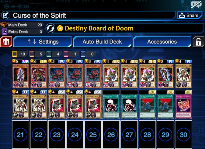 DGame Links | Duel Links: Legendary Duelist Decklist