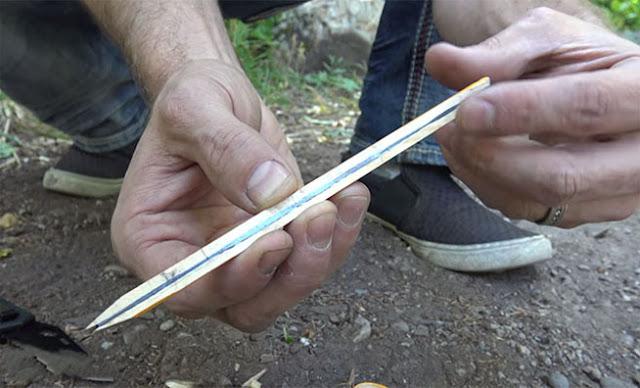 Χαμός στο διαδίκτυο με το νέο βίντεο – Πώς να ανάψετε φωτιά με μόνο ένα μολύβι